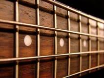 Guitarra baja de roca Imágenes de archivo libres de regalías