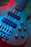 Guitarra baja eléctrica imagen de archivo libre de regalías