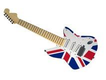 Guitarra BRITÂNICA Foto de Stock
