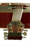 Guitarra. Cierre para arriba. Fotografía de archivo libre de regalías