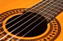 Guitarra clásica Imágenes de archivo libres de regalías