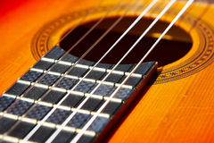 Guitarra clássica Fotos de Stock Royalty Free