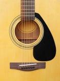Guitarra clássica acústica Imagem de Stock Royalty Free