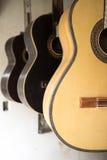 Guitarra clássicas em Equador Fotos de Stock