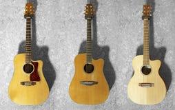 Guitarra acústicas Fotos de Stock