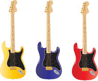 Guitarra da ilustração Foto de Stock
