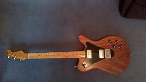 Guitarra da pista Fotografia de Stock Royalty Free