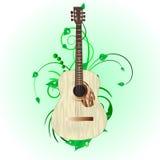 Guitarra de Grunge ilustración del vector
