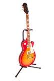 Guitarra de la acuarela Fotografía de archivo libre de regalías
