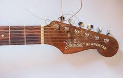 Guitarra de la defensa Imágenes de archivo libres de regalías