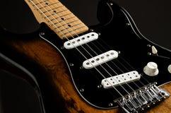 Guitarra de la defensa Fotografía de archivo
