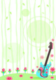 Guitarra de la naturaleza Imagenes de archivo
