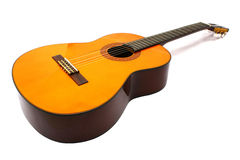 Guitarra de nylon fotografia de stock royalty free