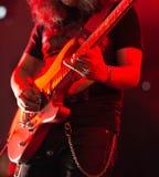 Guitarra de solo Imagens de Stock Royalty Free
