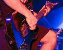 Guitarra del arranque de cinta Foto de archivo