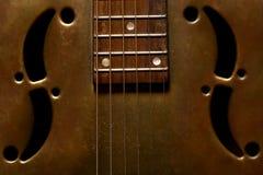 Guitarra del Dobro Foto de archivo