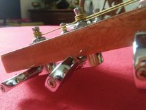 Guitarra del instrumento de música Foto de archivo