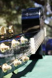 Guitarra del primer Imagen de archivo