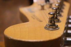 Guitarra del vintage Imágenes de archivo libres de regalías
