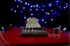 Guitarra do espaço Imagens de Stock Royalty Free