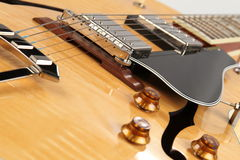 Guitarra do jazz Imagem de Stock