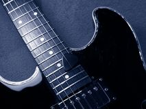Guitarra do jazz Fotos de Stock Royalty Free