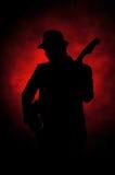 Guitarra do jazz Imagens de Stock Royalty Free