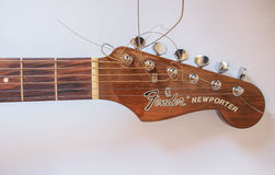 Guitarra do para-choque Imagens de Stock Royalty Free