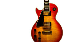 Guitarra dos azuis Fotos de Stock Royalty Free