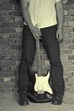 Guitarra eléctrica fotografía de archivo