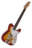 Guitarra eléctrica imágenes de archivo libres de regalías