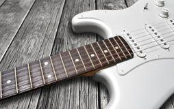 Guitarra eléctrica Fotografía de archivo libre de regalías