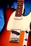 Guitarra eléctrica 6 Imagen de archivo libre de regalías