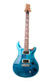 Guitarra eléctrica aislada Foto de archivo