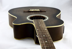 Guitarra eléctrica bastante bien Fotos de archivo