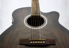 Guitarra eléctrica bastante bien Imágenes de archivo libres de regalías
