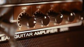 Guitarra eléctrica del amplificador metrajes