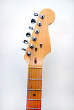 Guitarra eléctrica principal Imágenes de archivo libres de regalías