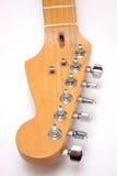 Guitarra eléctrica principal Foto de archivo libre de regalías