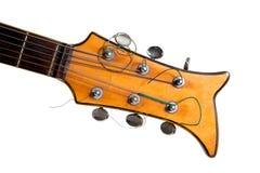 Guitarra eléctrica vieja Imágenes de archivo libres de regalías