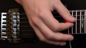 Guitarra elétrica vídeos de arquivo