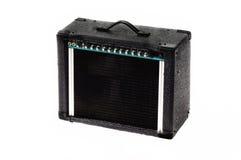 Guitarra elétrica ampère fotografia de stock