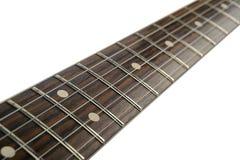Guitarra elétrica da garganta Imagens de Stock Royalty Free