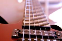 Guitarra elétrica da rocha imagens de stock royalty free