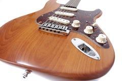 Guitarra elétrica do vintage Imagens de Stock Royalty Free