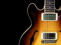 Guitarra elétrica do vintage Fotografia de Stock Royalty Free