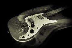 Guitarra elétrica Ghost Fotografia de Stock