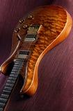 Guitarra elétrica luxuosa Fotografia de Stock