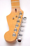 Guitarra elétrica principal Foto de Stock Royalty Free