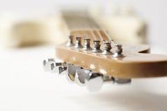 Guitarra eléctrica de la vendimia Foto de archivo